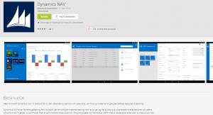 NAV for android kan hentes i Google play butikken - hvis man har en NAV 2015 installation at forbinde den med.